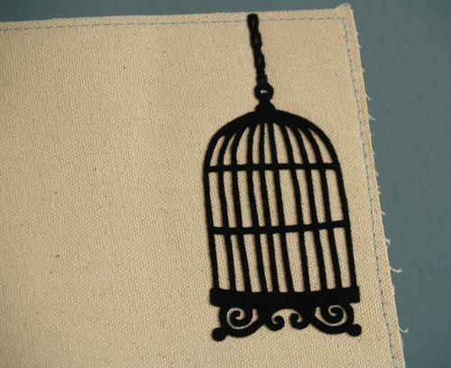Flockedbcage